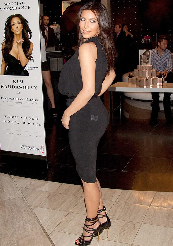 Kim Kardashian's 2 Wardrobe Malfunctions Draw Attention To Her Infamous Backside