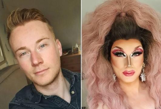 Sam Sheperd, aka Layla Zee Susan, who was threatened by Lee Ryan after 'calling out' his offensive comment. (Instagram)