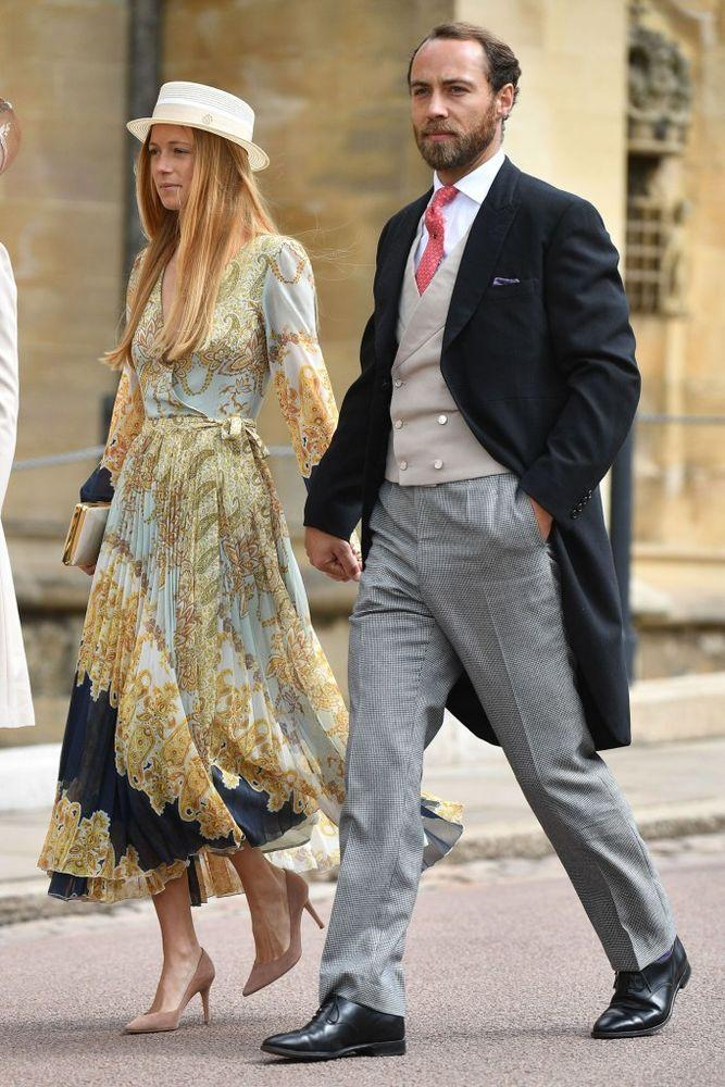 Alizee Thevenet and James Middleton | Tim Rooke/REX/Shutterstock