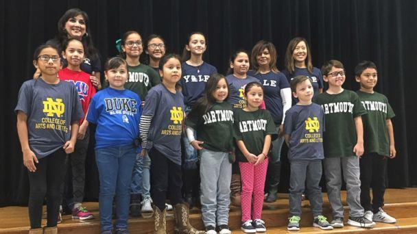 PHOTO: Margaret Olivarez, a third-grade teacher at Copperfield Elementary School in Texas, said her students come from very low-income families. (Pflugerville ISD )