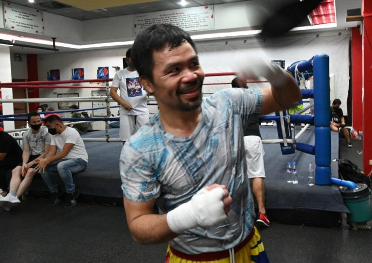 For now, Pacquiao says his mind is focused on the looming showdown with fellow southpaw Errol Spence, the 31-year-old unbeaten unified welterweight world champion