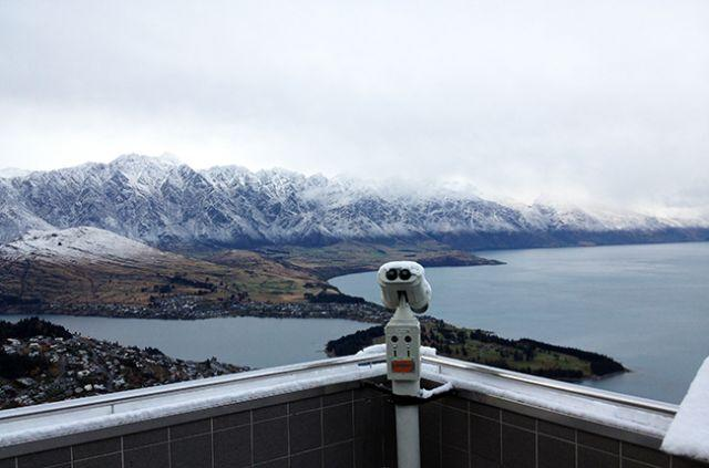 The view from Skyline Queenstown