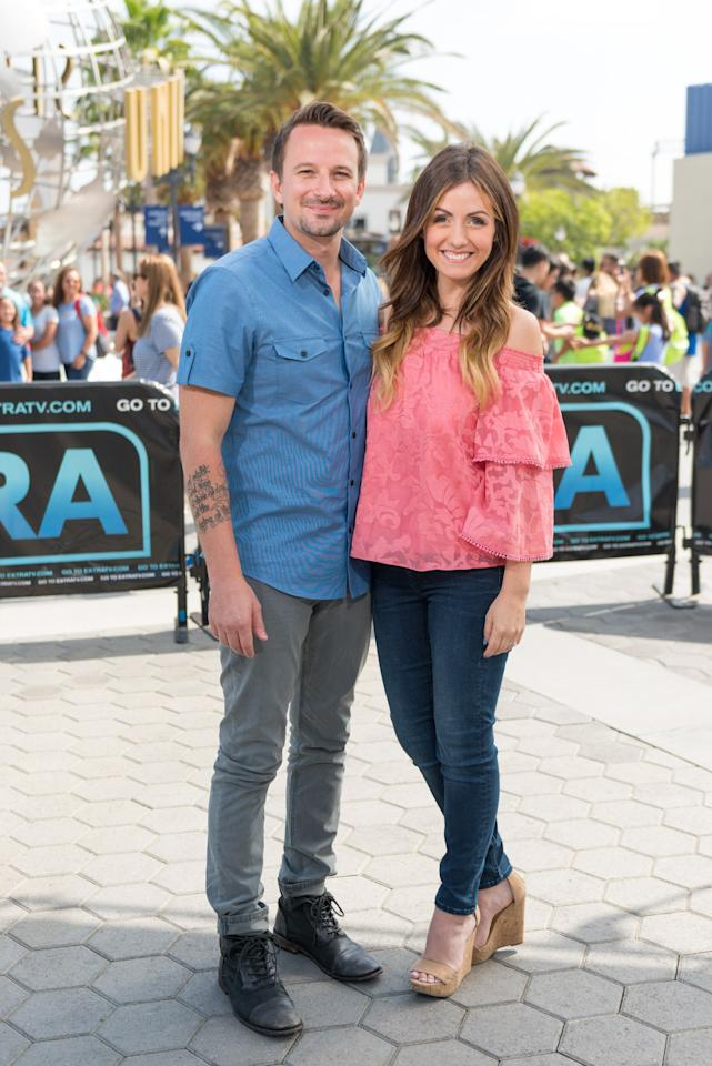 """It wasn't exactly love at first sight when these two met during season three of <em>Paradise</em>, but Carly and Evan are now a rock-solid couple. Since marrying on the same beach where they got engaged (their nuptials were televised and aired during <em>Bachelor in Paradise</em> season four), Carly and Evan welcomed their first child, a daughter named Isabella """"Bella"""" Evelyn. This past May, the couple revealed they're expecting baby number two, due November 2019. When sharing the news with fans, Evan <a href=""""https://www.instagram.com/p/BxPp-vQnGZJ/"""">joked</a>, """"I'm currently carefully curating this babies Instagram page to be released with ointment line in 2054."""""""