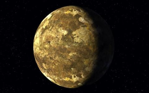 The new planet Kepler-90i is about 30 per cent larger than Earth and very hot - Credit: Nasa