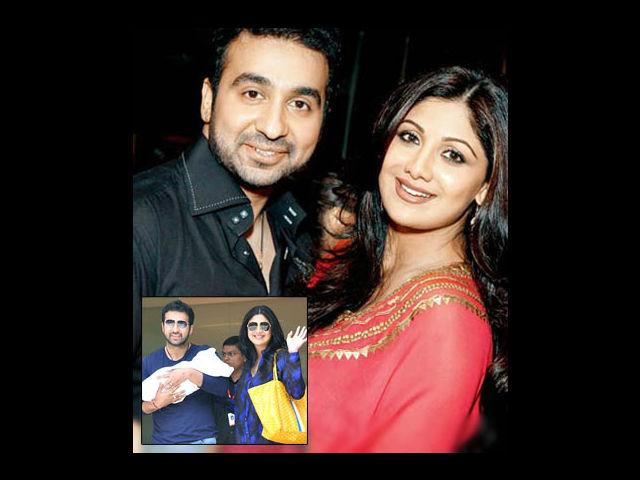 <p><strong>Shilpa Shetty-Raj Kundra</strong><br /><br />Viaan Raj kundra was one of the most anticipated Bollywood babies. The couple was more than happy to introduce their son to the media the very next day he was born. They also keep updating the news related to Viaan on his own twitter account.</p>