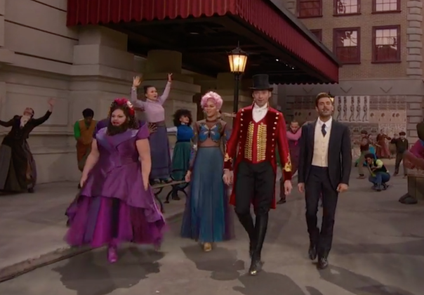 the greatest showman live movie trailer electrifies during a christmas story live - A Christmas Story Trailer