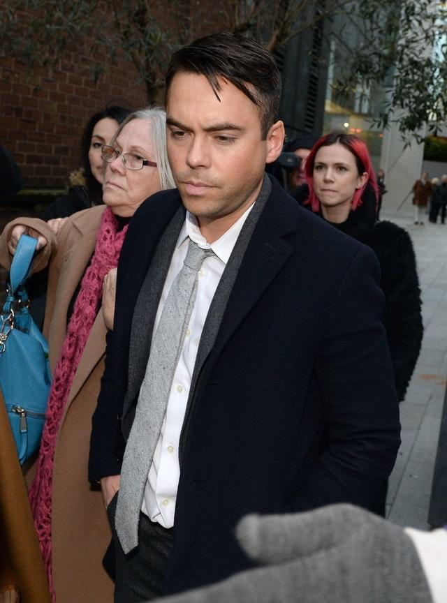 Bruno Langley previously played the role