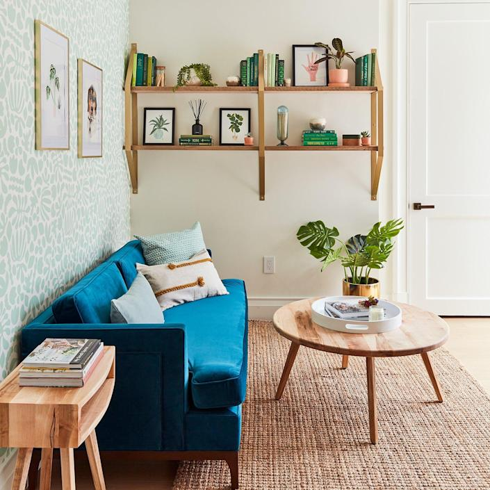 With a home office as stylish as the one in the 2020 Real Simple Home, you'd probably want to be working al the time!
