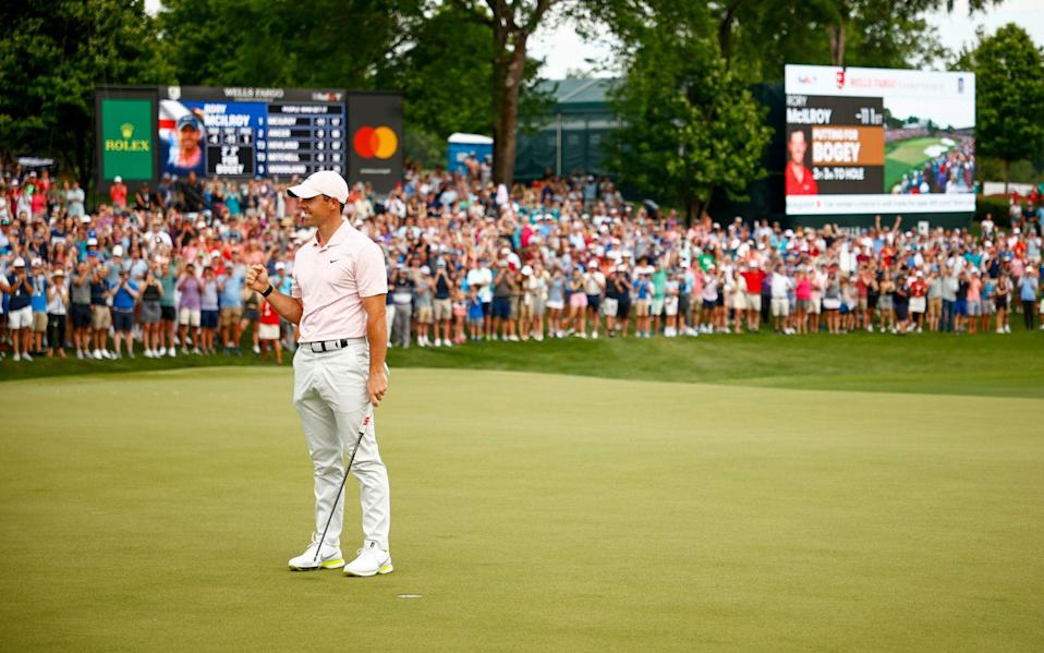 McIlroy arrived at the competition at 15th in the world - his lowest ranking since 2009 - GETTY IMAGES