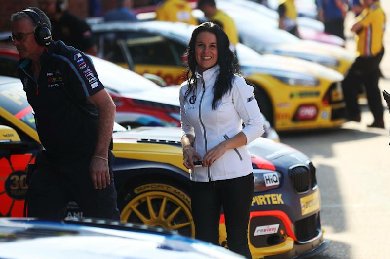 Motorsports worker Steph Crouch will miss out on a significant amount of government support. (Jakob Ebrey Photography)
