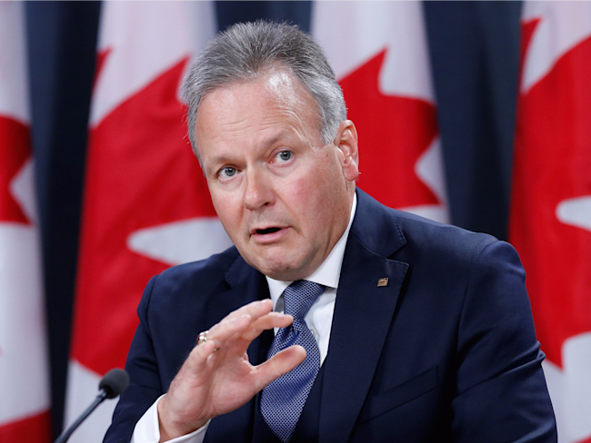 Stephen Poloz Bank of Canada