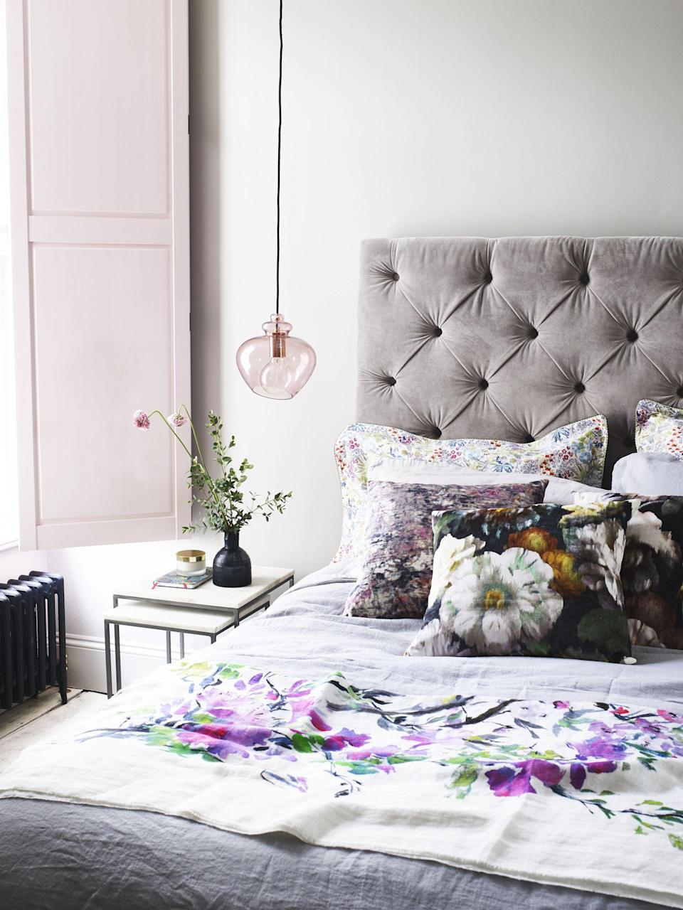 """<p><strong>Looking for pink and </strong><strong>grey <a href=""""https://www.housebeautiful.com/uk/decorate/bedroom/g31/bedroom-decorating-ideas/"""" rel=""""nofollow noopener"""" target=""""_blank"""" data-ylk=""""slk:bedroom"""" class=""""link rapid-noclick-resp"""">bedroom</a> ideas</strong><strong>? A comforting colour combination, it's a sophisticated </strong><strong>scheme that feels incredibly grown-up in <strong>master suites, children's bedrooms and guest bedrooms, too</strong>. </strong></p><p>Whether you're dreaming of pink <a href=""""https://www.housebeautiful.com/uk/decorate/living-room/g32357518/living-room-accessories/"""" rel=""""nofollow noopener"""" target=""""_blank"""" data-ylk=""""slk:accessories"""" class=""""link rapid-noclick-resp"""">accessories</a> or want to refresh <a href=""""https://www.housebeautiful.com/uk/decorate/walls/g28883214/wall-decor/"""" rel=""""nofollow noopener"""" target=""""_blank"""" data-ylk=""""slk:walls"""" class=""""link rapid-noclick-resp"""">walls</a> with a lick of grey paint, this versatile duo is the way to go (and the options are endless). Subtle use of pink can bring warmth to a room, while soft grey will make any space feel timeless. </p><p>If you're feeling bold, opt for a pink feature wall. For something less daring, paint a piece of your bedroom furniture dark grey and throw some matching cushions on your bed. And don't just think about the walls, you can introduce pink and grey with a bed, wardrobes, soft furnishings, blinds and curtains, too.<br></p><p>Here's how to nail a pink and grey bedroom colour scheme in your home.</p>"""