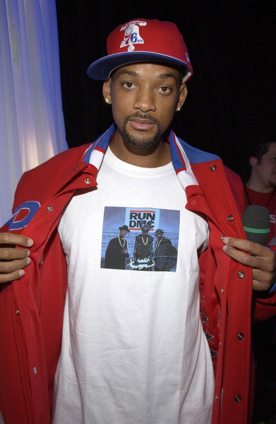 <p>Will Smith attending MTV's Spankin' New Music Week in 2002.</p>