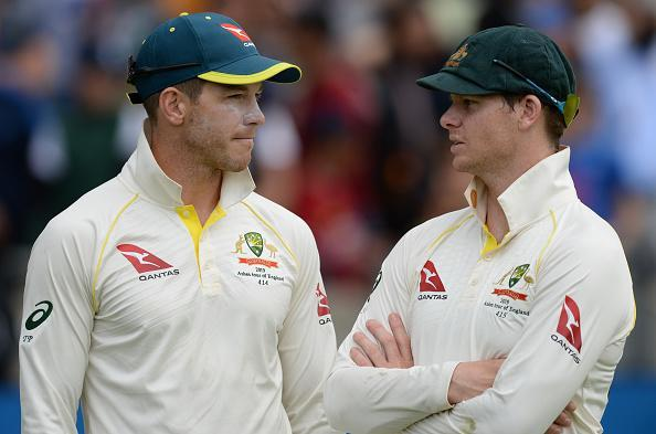 Tim Paine and Steve Smith