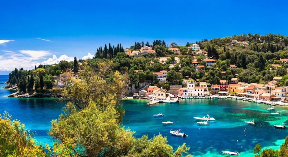 Loggos village in Paxos (Getty)