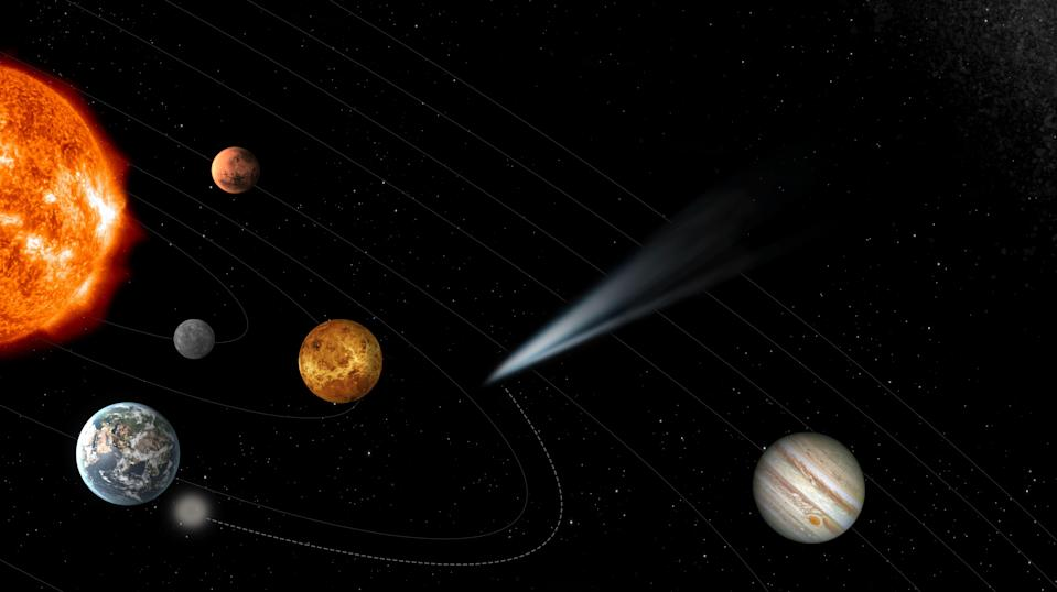 The Comet Interceptor mission is due to launch in 2028.
