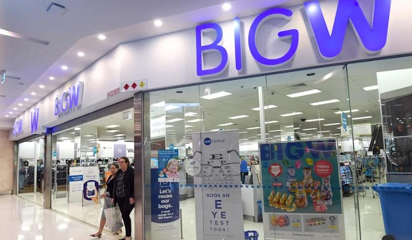 Big W storefront. Source: AAP