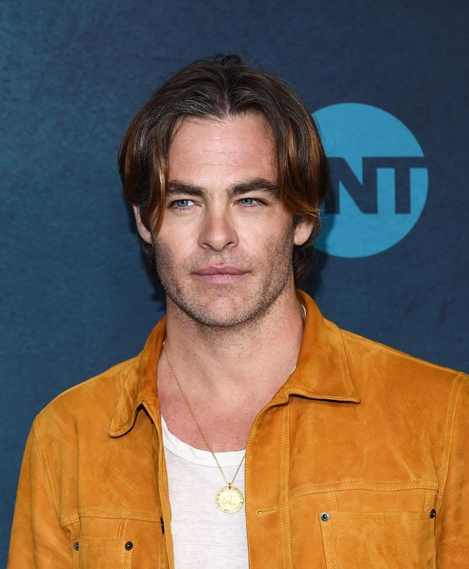 <p>Chris Pine has made his clean-cut brunette hair part of his signature look, so when the actor debuted longer bangs and a bit of flow in the back at the <em>I am the Night</em> premiere, we were shocked. </p>