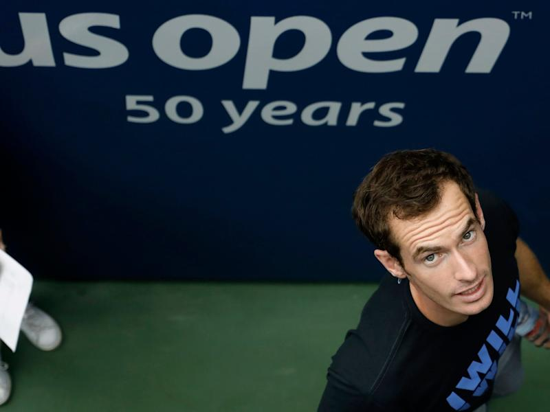 Andy Murray is playing in his first grand slam of the year: EPA