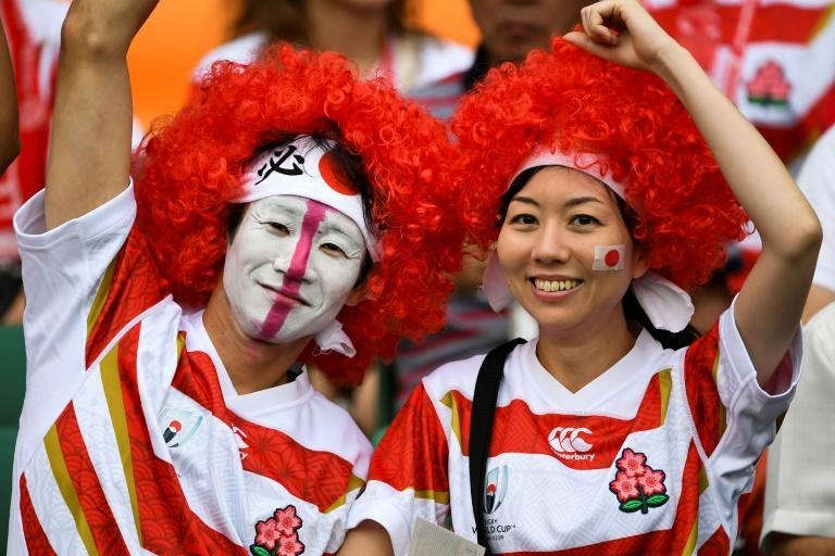 Japanese rugby shirts have been flying off the shelves