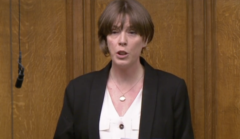 It took Jess Phillips four-and-a-half minutes to read out the 117 names of women killed in the UK where a man has either been convicted or charged as the primary perpetrator. (Parliamentlive.tv)