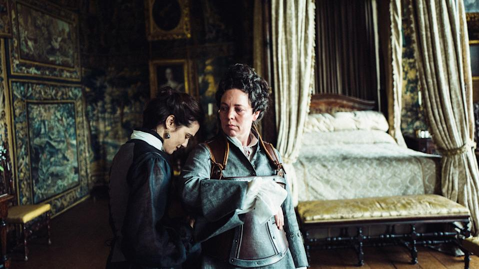 Rachel Weisz and Olivia Colman in 'The Favourite' (Fox Searchlight)