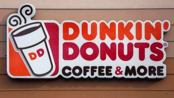 PHOTO: The Dunkin' Donuts logo on a shop in Mount Lebanon, Pa. (Gene J. Puskar/AP, FILE)