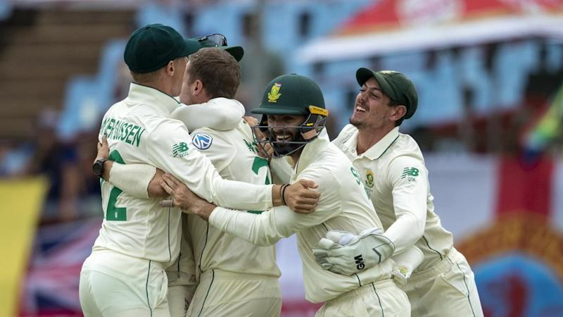 South Africa have dismissed England for 269 on day two of the second Test in Cape Town