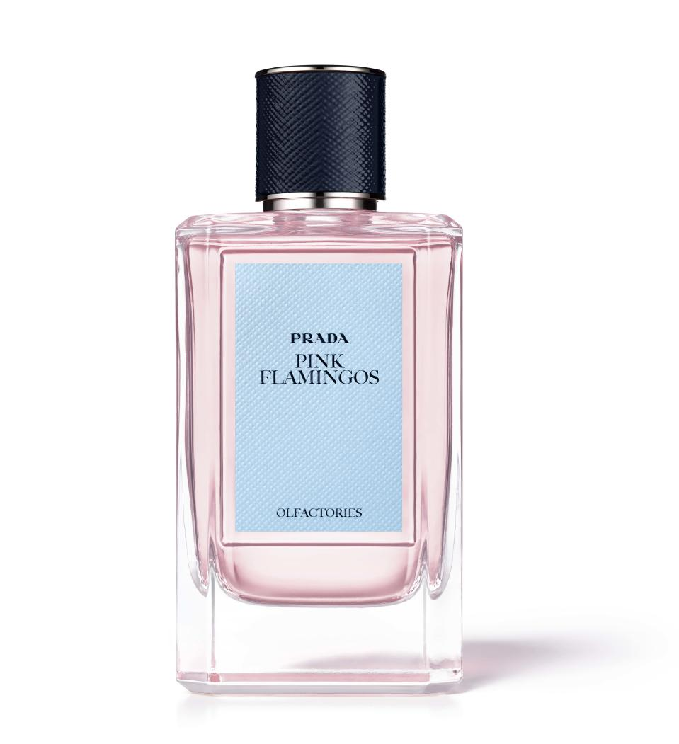 <p><span>Created by perfumer Daniela Andrier, under the creative direction of Miuccia Prada, Pink Flamingo completes the 10 distinctive scents launched by the luxury brand. Embrace the scent with visual forms of fluorescent pink blossoms, and a cloud of pink bubbles floating through the heart of Tokyo. So dreamy.</span> </p>