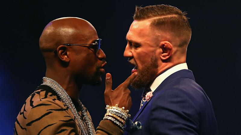 Floyd Mayweather doesn't think Conor McGregor will make weight