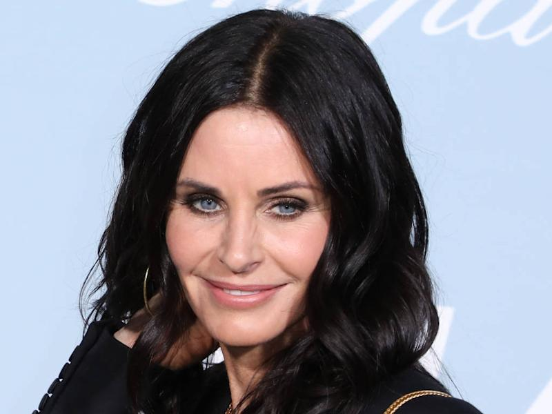 Courteney Cox 'so excited' about Friends reunion special