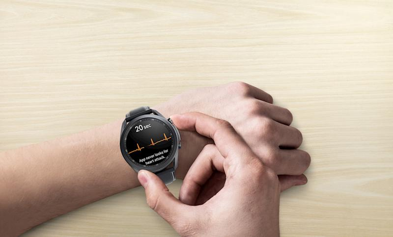 Samsung Galaxy Watch 3 ECG feature