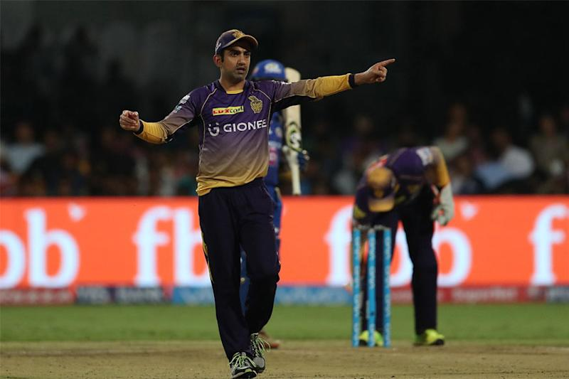 IPL 2017: Gautam Gambhir Blames Early Wickets For Loss To Mumbai Indians