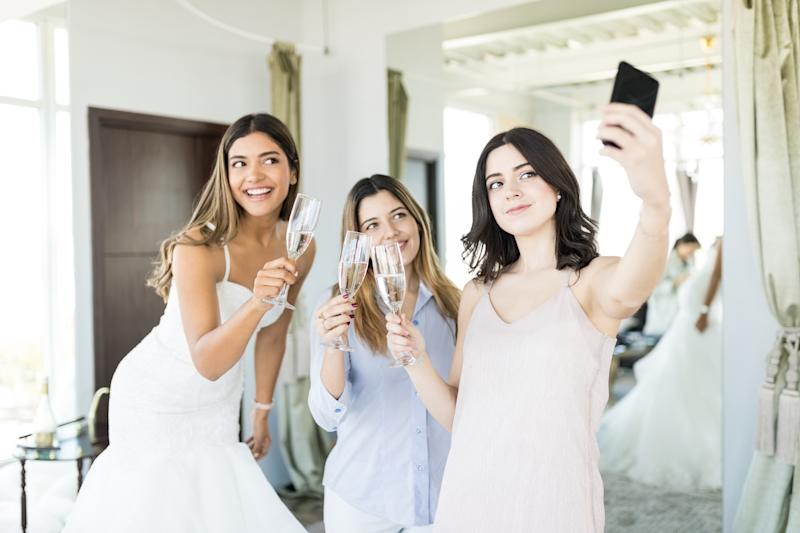 The 'influencer' promised to promote the wedding photography with her social media followers. Photo: Getty Images
