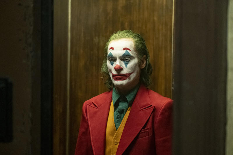 Joaquin Phoenix as Joker. (Warner Bros.)