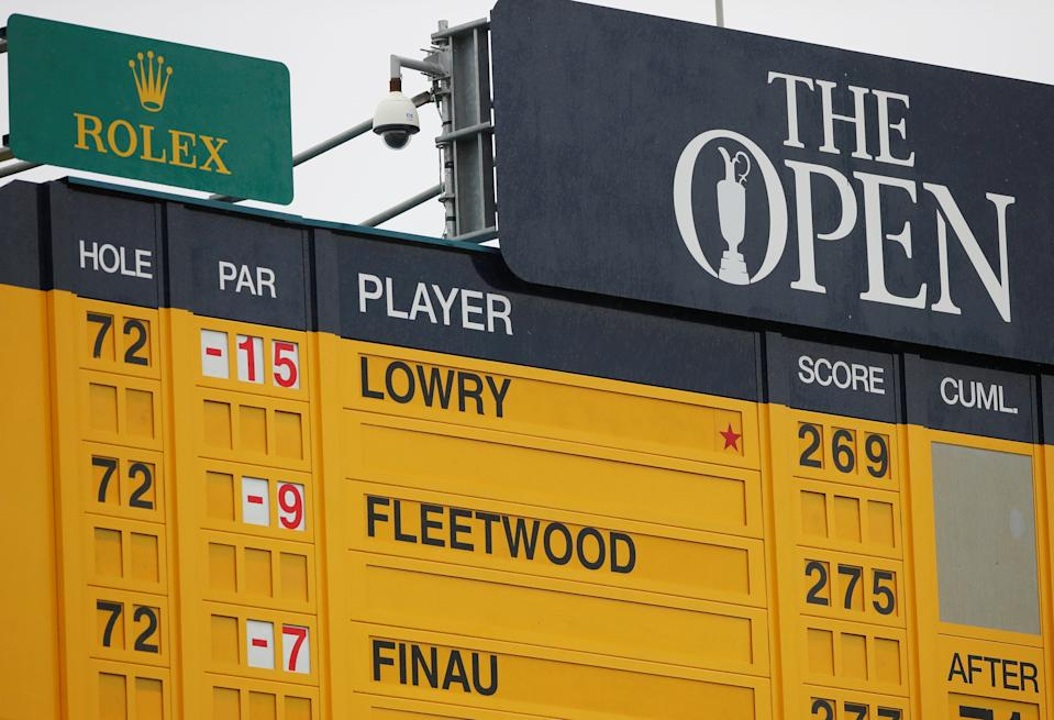 The Open Championship hasn't been played since 2019. (Reuters / Paul Childs)