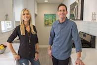 """<p>In April 2021, El Moussa told <i>Entertainment Tonight </i>that his relationship with Haack """"is in a <a href=""""https://people.com/parents/tarek-el-moussa-christina-haack-co-parenting-relationship-good-place/"""" rel=""""nofollow noopener"""" target=""""_blank"""" data-ylk=""""slk:completely different place"""" class=""""link rapid-noclick-resp"""">completely different place</a>."""" He continued, """"She and I are getting along, we're co-parenting, getting along together, and I really think the episodes are getting better and better.""""</p>"""