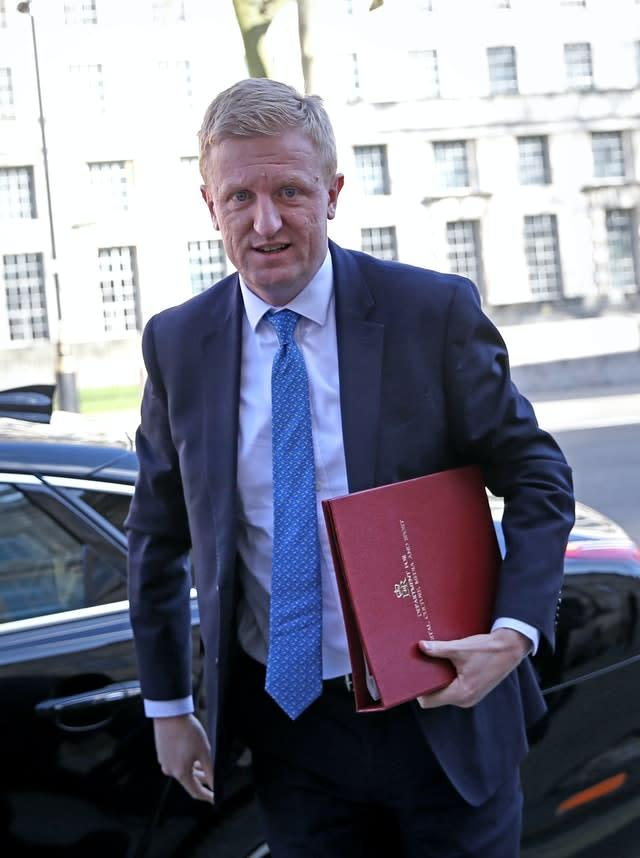 The new measures have been announced by culture secretary Oliver Dowden (Isabel Infantes/PA)