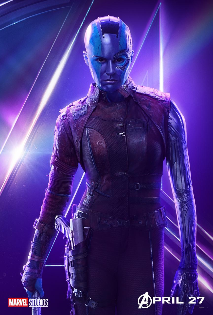 <p>Karen Gillan plays another adopted daughter of Thanos, who's seeking payback against daddy dearest. (Photo: Marvel Studios) </p>