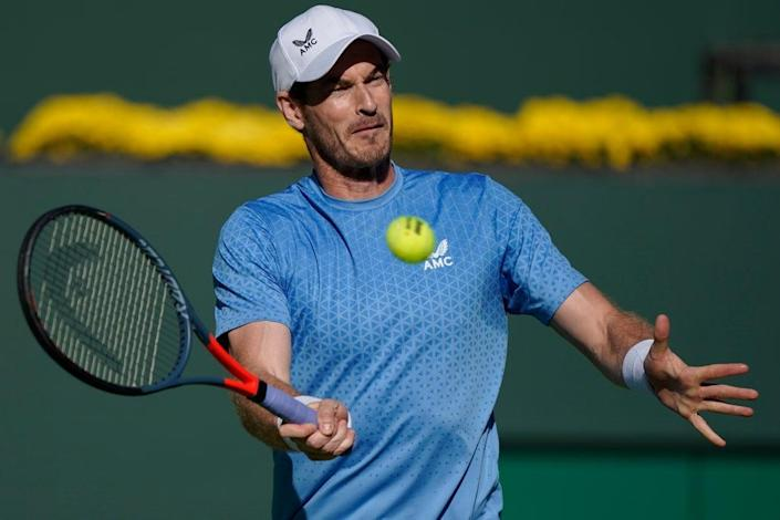 Andy Murray exited Indian Wells (Mark J. Terrill/AP) (AP)