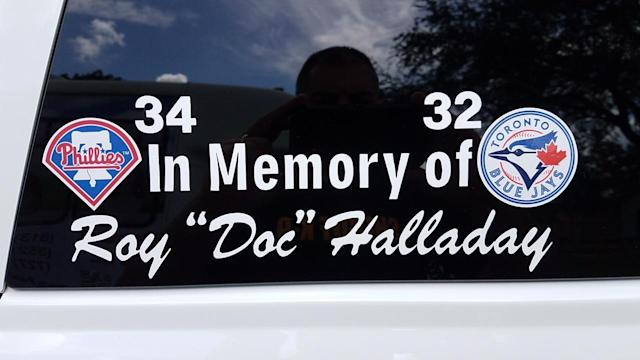 Roy Halladay's memory lives on in Pasco County, Florida. (Jeff Passan)