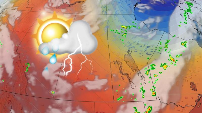Severe storm potential hangs on across the southern Prairies