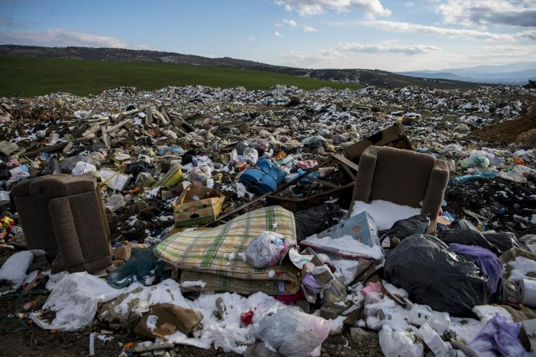 Illegal dumps are common across the region