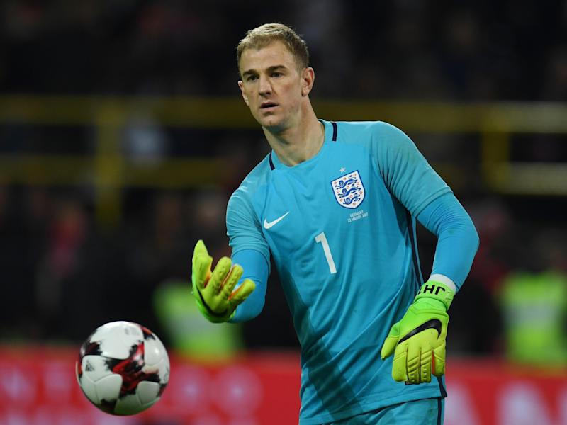 Hart will captain England against Lithuania on Sunday: Getty