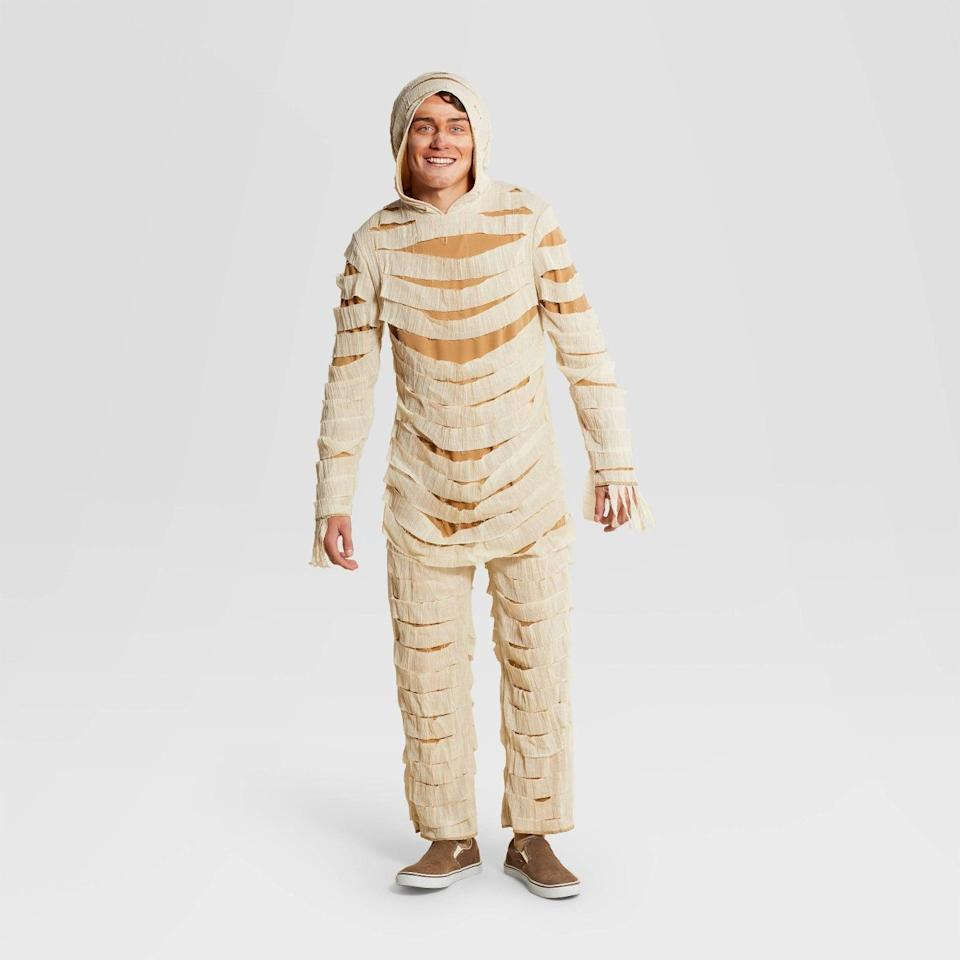<p>You can't go wrong with the <span>Hyde &amp; EEK! Boutique Adult Mummy Halloween Costume Jumpsuit</span> ($35). It's easy, creepy, and perfect for the spooky season. </p>