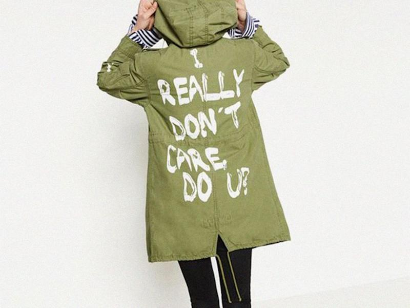 Melania Trump's jacket raises eyebrows for edgy message