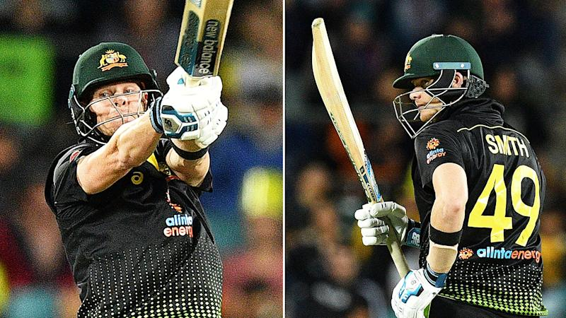 Australia batsman Steve Smith continued his amazing run of form in the T20 win against Pakistan.