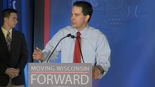 Gov. Scott Walker holds election rally at the Waukesha County Exposition Center.