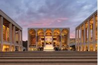 """<p>The Metropolitan Opera, New York Philharmonic, Chamber Music Society of Lincoln Center, and New York City Ballet all perform here. The Met Opera House, in particular, is worth visiting even without a show ticket—and with current COVID-19-related shutdowns, it may very well be the best option. But there's hope: Lincoln Center's plaza is currently being <a href=""""https://www.nytimes.com/2021/04/13/arts/lincoln-center-plaza-green.html"""" rel=""""nofollow noopener"""" target=""""_blank"""" data-ylk=""""slk:transformed with a synthetic lawn"""" class=""""link rapid-noclick-resp"""">transformed with a synthetic lawn</a> to host outdoor events during the spring and summer of 2021. </p>"""