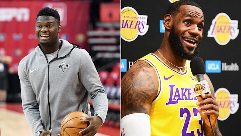 Zion Williamson has often been compared to LeBron James.